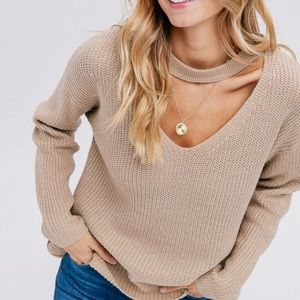 🎉Host Pick🎉😍 Cozy Cut Out V Neck Sweater